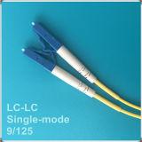 Lc-LC Koord van het Flard van de Vezel van PC Single-Mode Optische