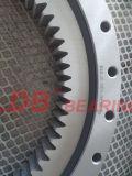 単一列内部ギヤ9I-1b25-1296-0180が付いている4ポイント接触の回転のボールベアリング