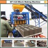 Bloc concret faisant le catalogue des prix de machine en Inde Qt4-24