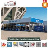 Tenda di lusso 1000 di capienza per la tenda di approvvigionamento con la parete di vetro