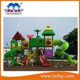 Glissière extérieure Txd16-SL001 de cour de jeu d'enfants de cour de jeu de glissières multi de qualité