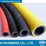 Boyaux en caoutchouc flexibles d'air/eau avec de tissu-renforcé