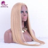#613 de color rubio cabello indio peluca encaje frontal para la Mujer