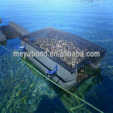 Gaiola líquida de flutuação da rede da cultura aquática da gaiola do PE