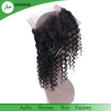 capelli umani non trattati 100% 2018 nessun Frontal di spargimento degli accessori 360