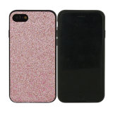 iPhone 8을%s TPU Paste Glitter PU Mobile Phone Case