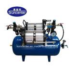 Suncenter 40 bar de pressão da bomba auxiliar de alimentação de ar com reservatórios de ar