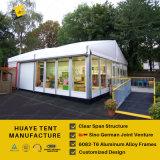 шатер рамки алюминиевый с белыми крышками крыши PVC & стеклянными стенами (HAF 20M)