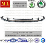 Bumper fronte Ventilation Grille per Skoda Superb From 2008 (3T0 853 677)