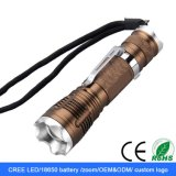 CREATE XPE LED Torch Zoomable Flexible LED Flashlight