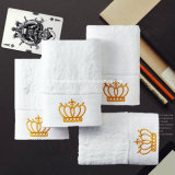 100%年の綿の優れた品質の非常に吸収性のホテルの浴室タオル手タオル