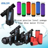 Y datilografa o tipo da taxa da irrigação do disco e de fluxo de /Small do filtro de água da indústria