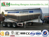 半Shengrun Mnufacturer高品質のアルミニウムBulkerのトレーラーの大きさのトレーラー3の車軸セメントのタンカー