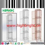 Casier de mémoire de treillis métallique avec le blocage de garniture pour le chantier de construction