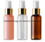Novo Produto atacadista de plástico do pulverizador de alumínio claro garrafa spray 50ml para o perfume ou embalagens de cosméticos