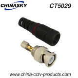 CCTV Male Solderless BNC Adapter with Boot (CT5029)