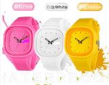 Yxl-994 2016 New Famous Brand Fashion Geneva Jelly Quartz Watch Mulheres Relógios de pulso de silicone fino Relogio Relógio de Senhoras