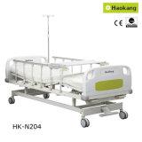 Patentado Diseño Manual Médico dos Crank cama de hospital (HK-N204)