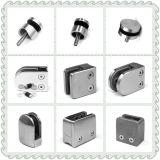 Zamak Abrazaderas de cristal / Vidrio Zink pinzas / Accesorios / Pasamanos pasamanos en el montaje y la abrazadera de forma D