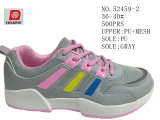 Semelle PU Fashion Lady Stock chaussures de sport