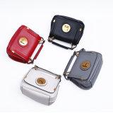 Dz025. Sacchetto di spalla di cuoio delle borse di modo del sacchetto delle donne delle borse delle borse del progettista della borsa delle signore