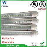 UL светодиодный индикатор трубки T8 8 футов с 3 лет гарантии Lm80 100-277V UL