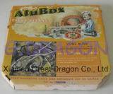 Scatola di cartone ondulata per le pizze, scatole da pasticceria, contenitori del biscotto (PIZZ001)