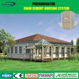 시멘트 위원회와 강철 단면도를 가진 강철 프레임 휴대용 모듈 별장에 의하여 조립식으로 만들어지는 집