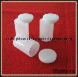 Undurchlässige schmelzende zylinderförmige Silikon-Quarz-Tiegel mit Deckel