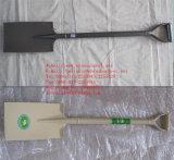 경작하고 뜰을 만들기를 위한 용접된 강철 손잡이 삽 삽
