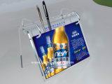 Support en plastique acrylique de calendrier de bureau