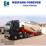 車軸セミトレーラーのセメントのトラック、輸送のためのバルクタンクトレーラー、