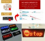 Visualizzazione Tricolor asincrona di Scrolling di controllo P10 LED della Cina esterna/scheda di messaggio Scrolling del LED