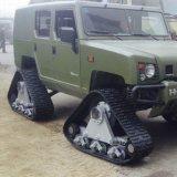 Sistema de esteira de borracha para 4,0 toneladas Veículos Hkms-400