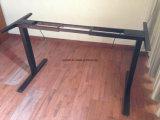 Büro-Schreibtisch-spezifischer Gebrauch und Bein-elektrische Höhen-justierbarer Tisch des Metallmaterial-zwei