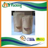 Malote de pé do papel de embalagem Com reforço e o indicador inferiores