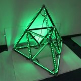 LED 표시등 막대를 바꾸는 Madrix 소프트웨어 색깔