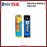 Pilha seca LR03 de 1,5 V da bateria alcalina LR6 LR14 LR20 6LR61
