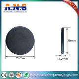 Résistance de rail de température élevée d'étiquette de pièce de monnaie d'IDENTIFICATION RF d'IDENTIFICATION RF d'étiquette lavable de blanchisserie