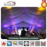 玄関ひさしのフロアーリングおよびCourtainsの大きい結婚式のテントのためのアルミニウムテント
