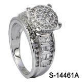 Zilver van uitstekende kwaliteit 925 van de Ring van de Juwelen van de Manier