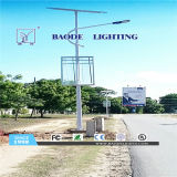 8m 90W СИД Lithium Battery Solar Street Light