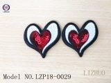 Pouco Shinning Stars& Coração Bordados novo patch bordados personalizados