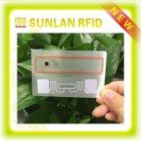 Sunlanrfid Cartões inteligentes OEM / Cartão RFID / Cartões de identificação de PVC / Cartão de identificação / Etiqueta RFID de 13,56 MHz / com Mf S50 / S70 Mf 1k / 4k Chip para controle de acesso
