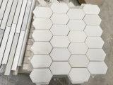 Opgepoetst/Geslepen/Natuurlijk Marmer/het Witte Marmeren Witte Marmer Staturary van Carrara voor Mozaïek