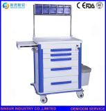 الصين مستشفى أثاث لازم [أبس] [مولتي-فونكأيشن] طبيّة [أنسثسا] عربة/حامل متحرّك