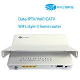 Маршрутизатор дома маршрутизатора CPE гигабита с IPTV/VoIP/CATV/WiFi