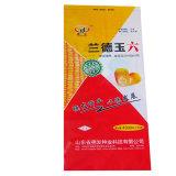 Sacs tissés par plastique biodégradable de polypropylène de Shandong pour la graine de blé de maïs
