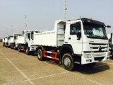 HOWO 4*2 작은 덤프 화물 트럭 5 톤 Zz1047D3414c145