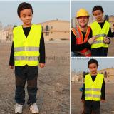 Maglia riflettente di sicurezza di alta visibilità per i bambini